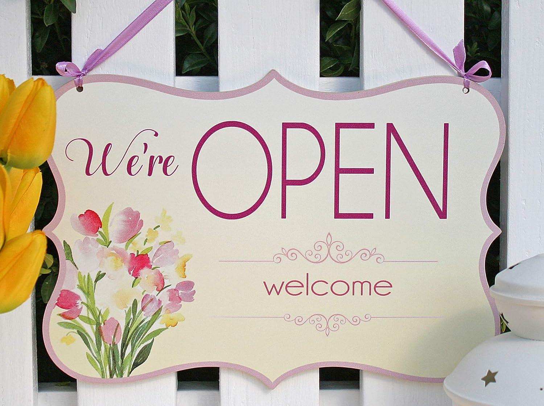 Open Welcome/Closed sorry - o abierto/cerrado, cartel ...