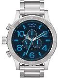 NIXON(ニクソン)腕時計 51-30 クロノグラフ シルバー/ダークブルーA0832219 A083-2219 [並行輸入品]