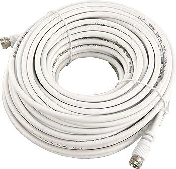 No de nombre Cable de antena (75 Ohm, conector F > conector F, 20 ...