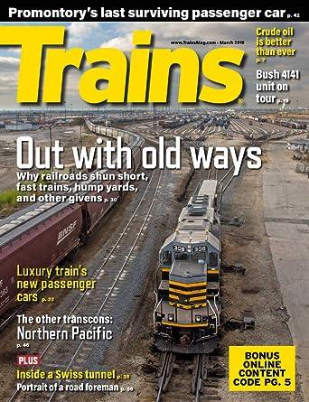 Trains Amazoncom Magazines