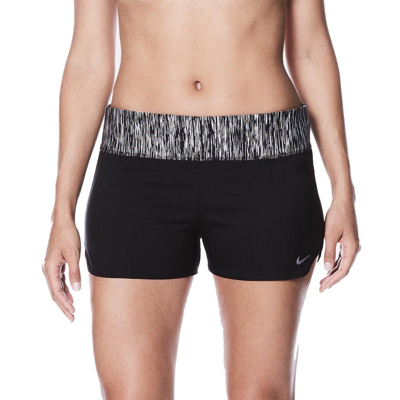 df5533f610e4 Nike NESS8278 Women s Rush Heather Swim Boardshort at Amazon Women s  Clothing store