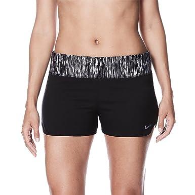 54d67e835d8 Nike NESS8278 Women's Rush Heather Swim Boardshort at Amazon Women's  Clothing store: