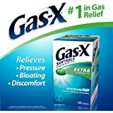 Gas-X Extra Strength Softgels 125 mg (120 ct.) by Gas-X