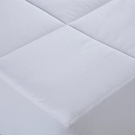 cottonloft cottonlux 500 thread count cotton mattress pad twin white
