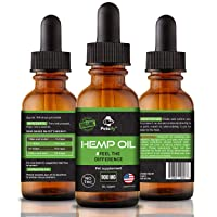 Petsify Organic Hemp Oil for Dogs & Cats - 900mg - Supports Hip and Joint Health, Natural Arthritis Pain relief, Anti Anxiety | Made in USA, 1fl
