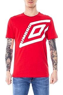 Umbro T-Shirt Uomo S Nero 19etpu0170 Primavera Estate 2019