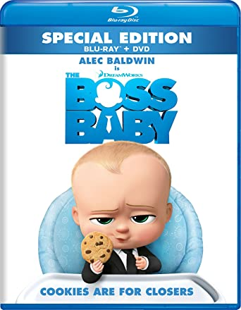 159a76109662c Amazon.com  The Boss Baby  Blu-ray   Alec Baldwin