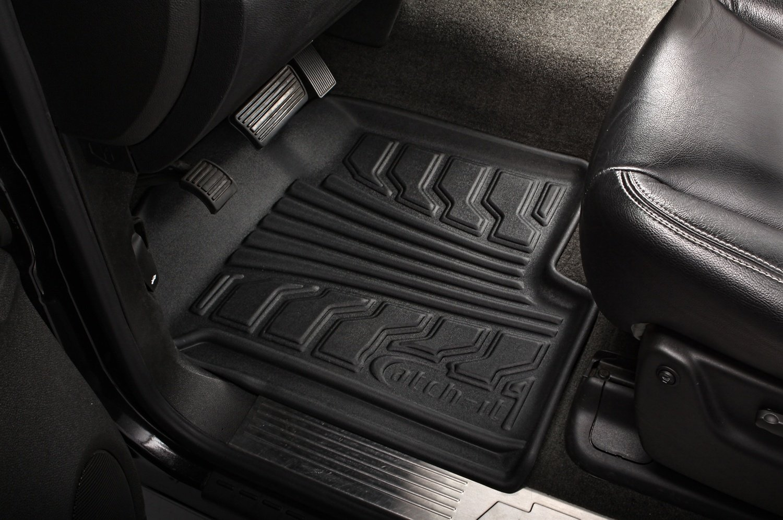 Lund 283085-G Catch-It Vinyl Grey Front Seat Floor Mat Set of 2