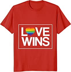 Love Wins T-Shirt, LGBT Shirt, Gay Pride, Rainbow Pride