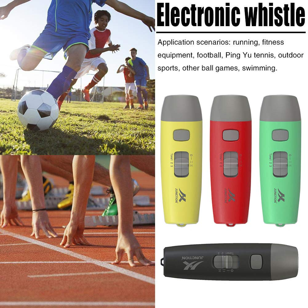 Electronic Referee Whistle For Sports Running Football Camping Training 2 Tones