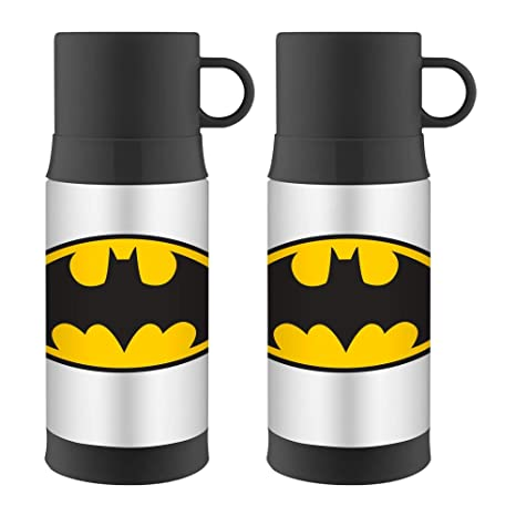 Amazon.com: Thermos FUNtainer Botella de acero inoxidable ...