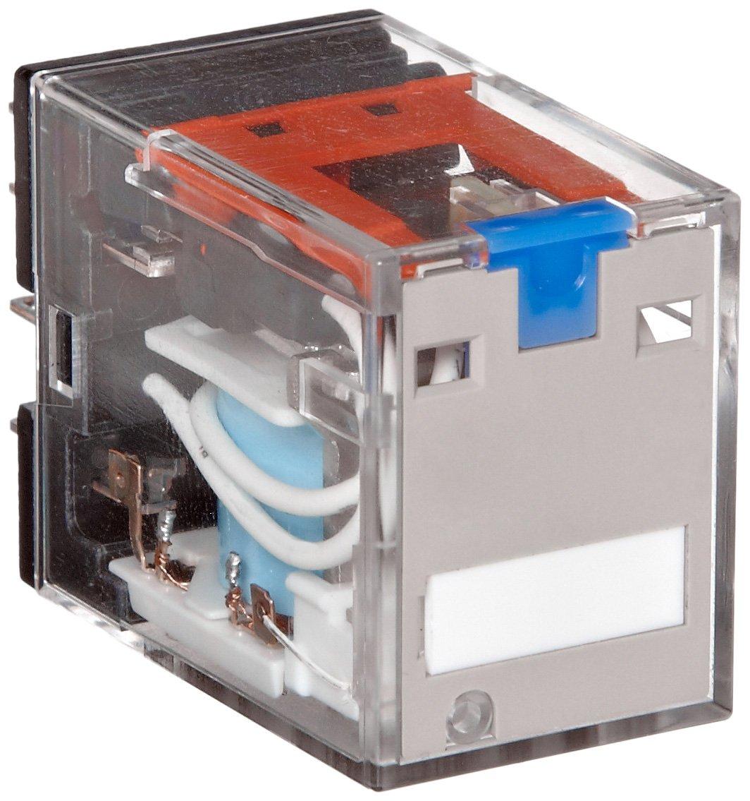 Omron My4zin Ac110 120 S General Purpose Relay Standard Coil Hayward Goldline Aqualogic Main Printed Circuit Board Glxpcbmain Polarity Led Indicator And Lockable Test Button Type Plug In Socket Solder
