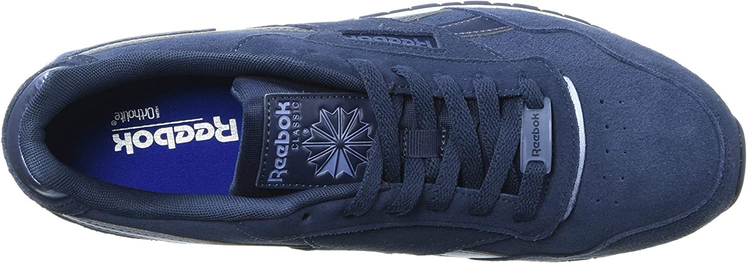 Reebok Classic Harman Run, Tennis Homme Heritage Navy Wash White
