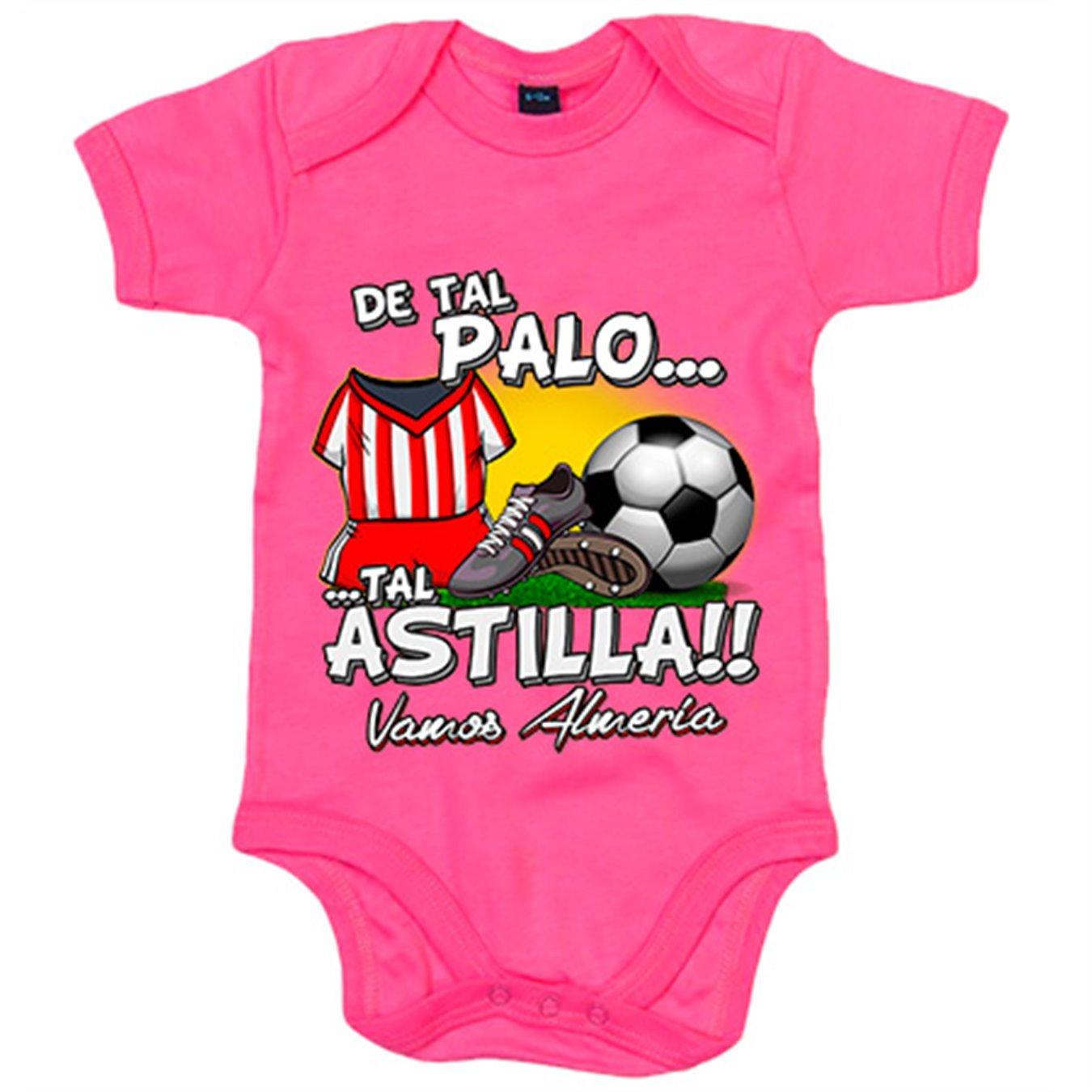 Body bebé De tal palo tal astilla Almería fútbol - Blanco, 6-12 ...