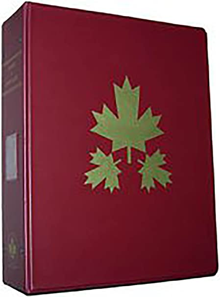 Harris B&W Canada Stamp Album 1851-2017 Complete - Pages & Binders (2-post)