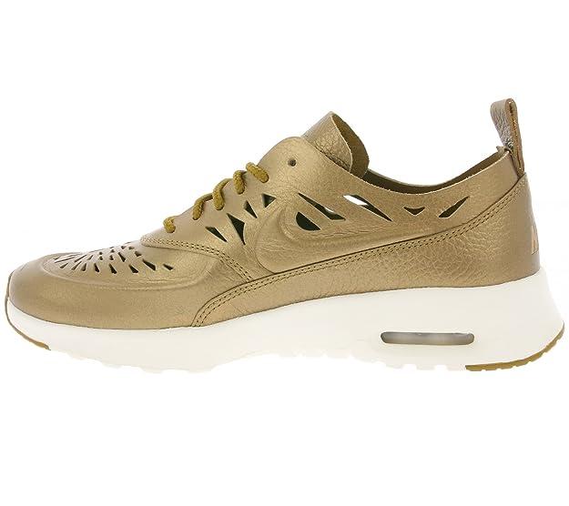 e17607df22 Amazon.com   NIKE Schoes WMNS Air Max Thea Joli Metallic Golden Tan  (725118-900)   Fashion Sneakers