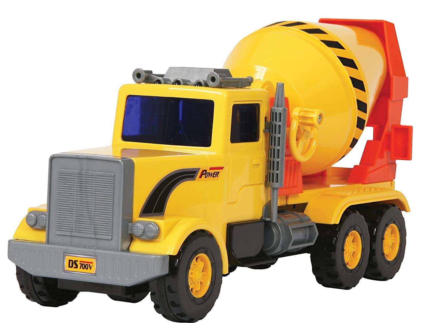 Cement Mixer Small World Toys Vehicles Orda USA 3300703 Friction Powered