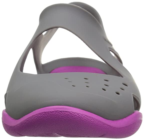 362cfaf99653 crocs Swiftwater Wave Women Shoe in Grey  Buy Online at Low Prices in India  - Amazon.in