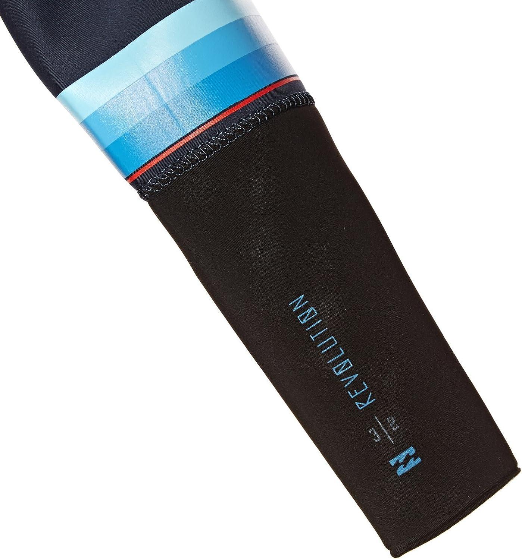 2MM Brust-Rei/ßverschluss-Neoprenanzug Schiefer Thermische W/ärmeschichtschichten Easy Stretch-Thermofutter BILLABONG Revolution Dbah 3