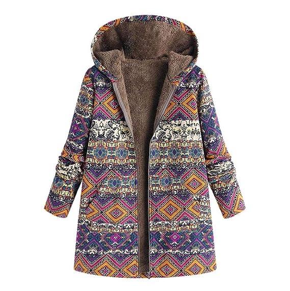 Damen Lammwolle Kapuzenpulli Tasche Mantel Strick Langärmelige Strickjacke