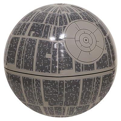 SwimWays Star Wars Death Star XXL Light-Up Inflatable Beach Ball: Toys & Games