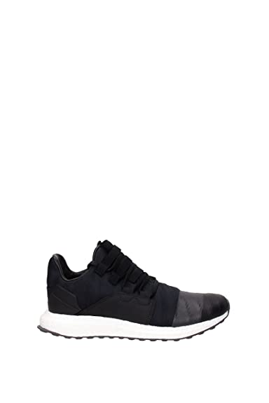 4a07adf95ed7 Mens Y-3 Kozoko Low Trainers in Black- Single Piece Upper- Lace ...