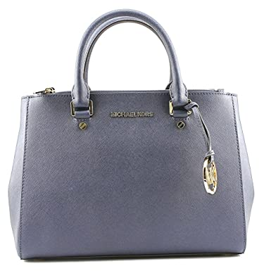 59d119166df2 Amazon.com  Michael Michael Kors Jet Set Travel Medium Dressy Tote (NAVY)   Shoes
