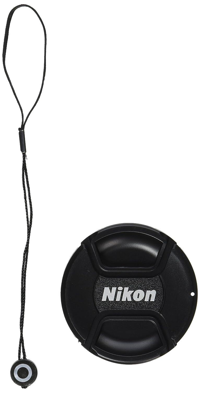 CowboyStudio 77mm Center Pinch Snap-on Lens Cap for Nikon Lens Replaces LC 77 Includes Lens Cap Holder