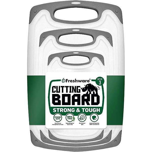 Amazon.com: Freshware BC-300PK - Cocina de plástico (3 ...