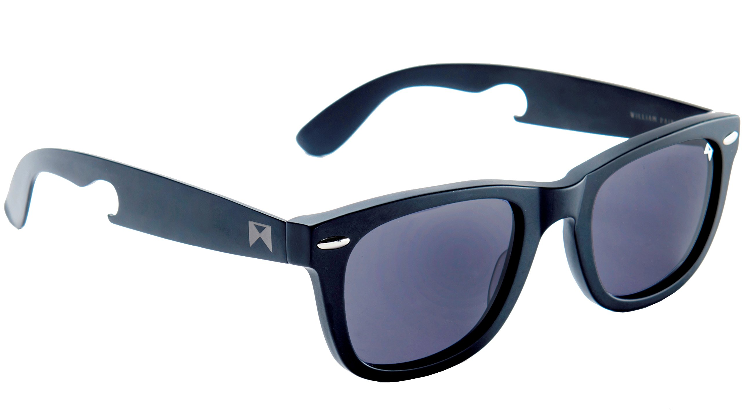 William Painter - The Hook Titanium Polarized Wayfarer Sunglasses