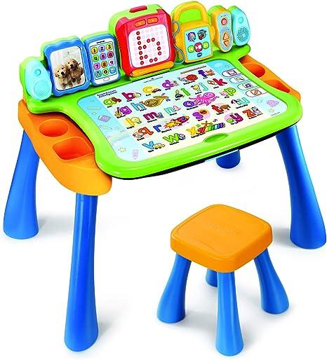 VTech- Mesa de Actividades táctil y Aprendizaje, Multicolor, 46.1 ...