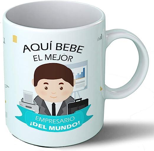 Planetacase Taza Desayuno Aquí Bebe el Mejor Empresario del Mundo ...