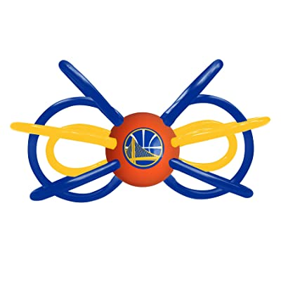 Baby Fanatic NBA Golden State Warriors Unisex GSW440Teether/Rattle - Golden State Warriors, See Description, See Description: Sports & Outdoors