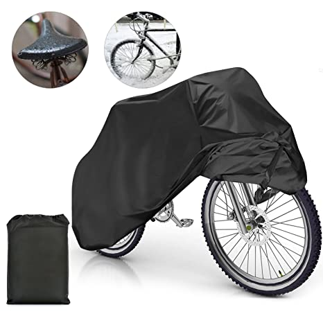 Samione Fundas para Bicicletas Impermeable Anti Cubierta para Bici Cubre-Bicicleta Protector contra Lluvia y Polvo para Bicicleta Motocicleta ...