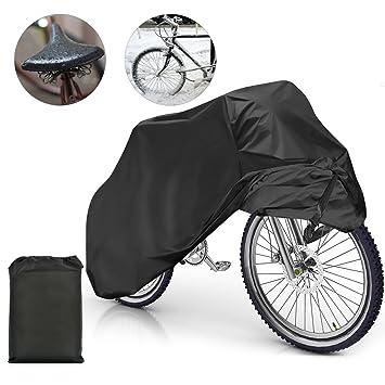 Samione Fundas para Bicicletas Impermeable Anti Cubierta para Bici Cubre- Bicicleta Protector contra Lluvia y Polvo para Bicicleta Motocicleta 190x65x98CM ...