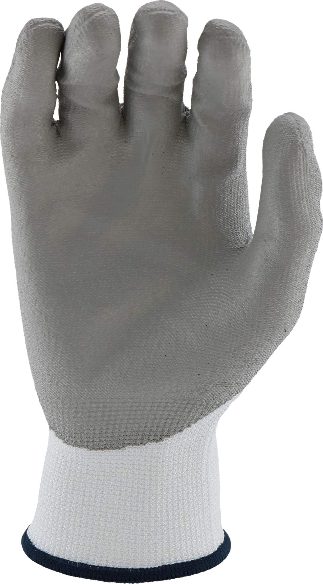 West Chester 713HGWU XL Barracuda White HPPE Shell with Grey PU Dip Cut Protection Gloves, XL (Pack of 12) by West Chester (Image #4)