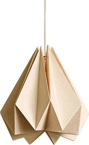 Brownfolds Paper Origami Lamp Shade Vanilla Bliss Single Pack Light Peach