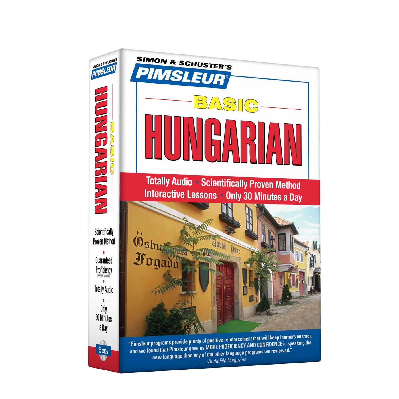 Pimsleur Hungarian Basic Course - Level 1 Lessons 1-10 CD: Learn to Speak and Understand Hungarian with Pimsleur Language Programs by Brand: Pimsleur