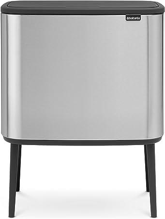 Amazon.com: Brabantia 316289 Bo Touch - Papelera: Home & Kitchen