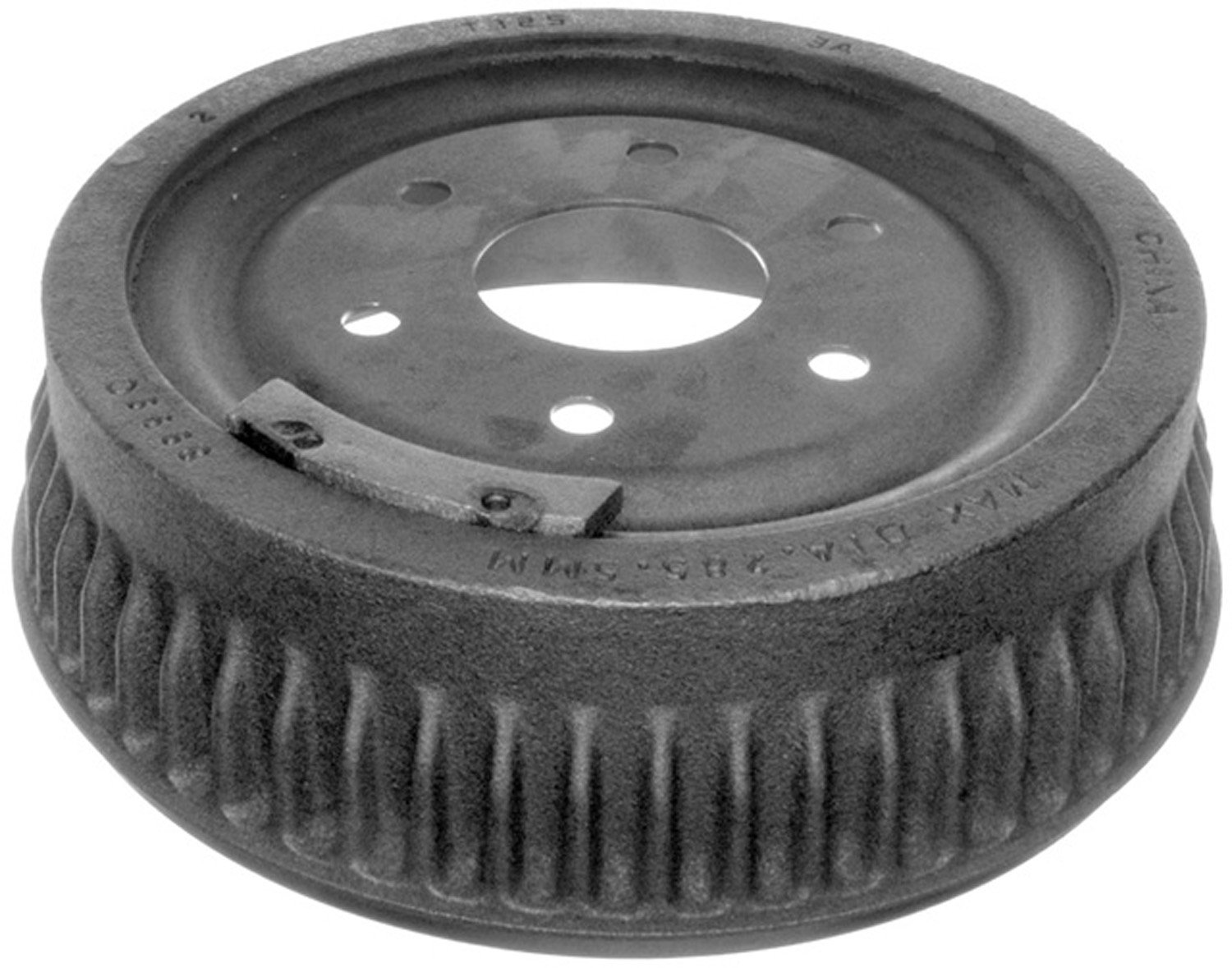 ACDelco 18B275 Professional Rear Brake Drum Assembly