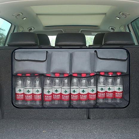 Wasserdichtes netz Auto Aufbewahrungstasche Rücksitz Kofferraum Organizer