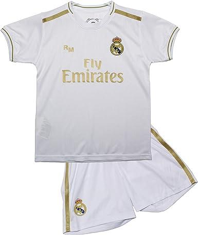 Real Madrid Primera Equipación 2019/2020 - Producto Oficial Licenciado: Amazon.es: Ropa y accesorios