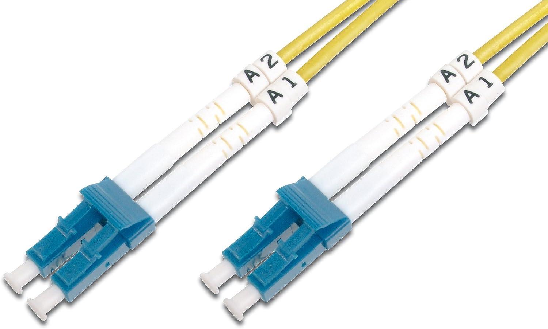 Digitus Lwl Patch Kabel Glasfaser 2 M Os2 Lc Apc Elektronik