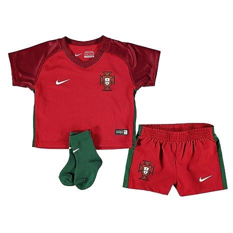 Nike Portugal Home Mini Kit 2016 Baby Rojo Fútbol TOP ...