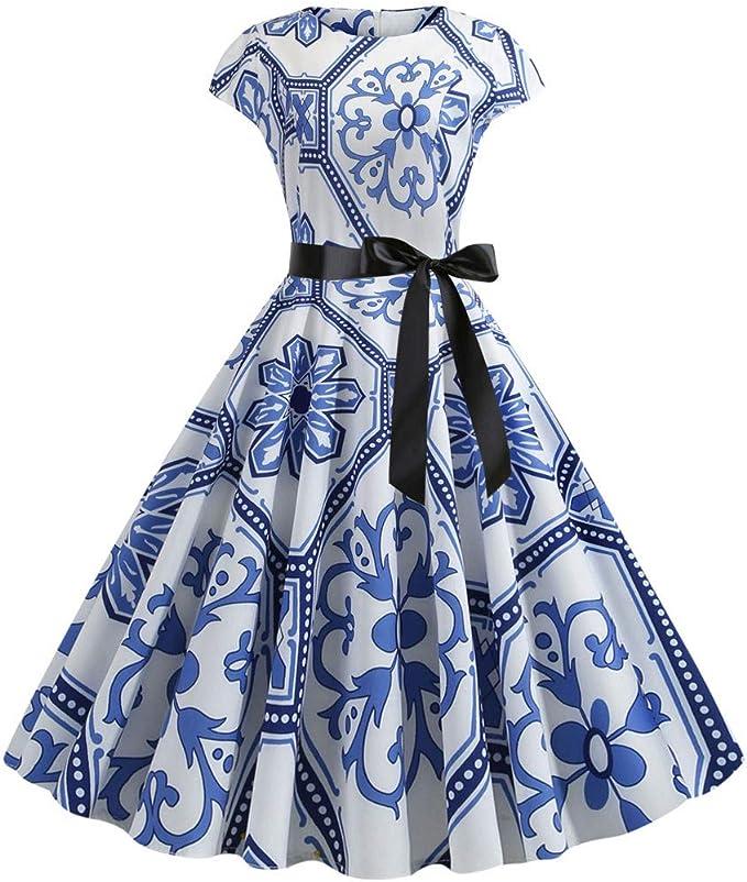 Señoras falda traje de tres piezas Azul Floral U K Talla 14 al 24 de Boda Iglesia