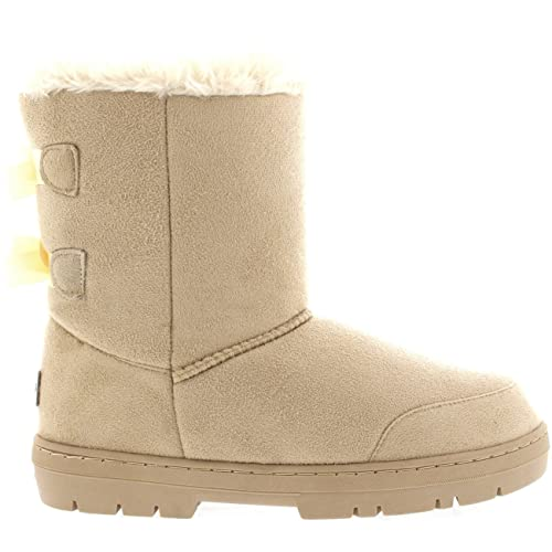 3bea1b9e5 Holly Womens Twin Bow Tall Classic Waterproof Winter Rain Snow Boots:  Amazon.ca: Shoes & Handbags