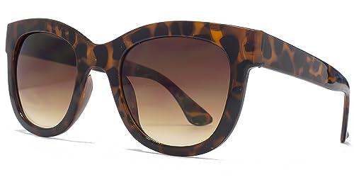 M:UK Hoxton D grosso telaio occhiali da sole tartarugati MUK147854 One Size Brown Gradient