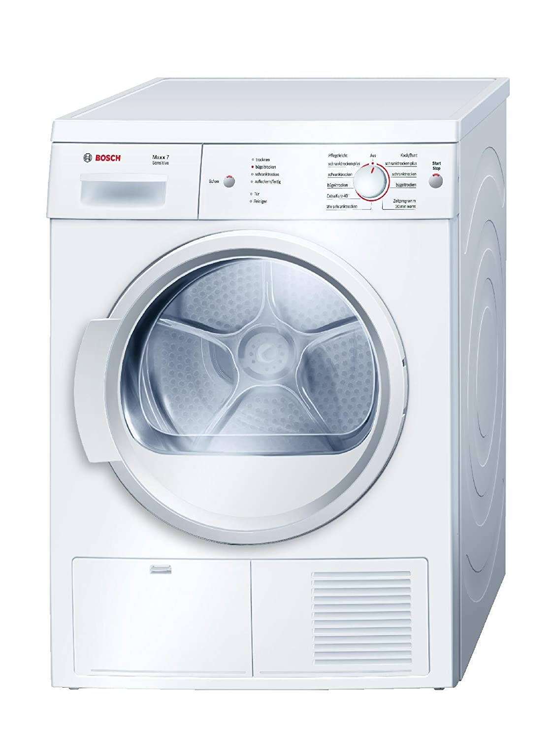 Bosch WTE86103 freestanding Front-load 7kg B White tumble dryer - tumble dryers (freestanding, Front-load, Condensation, B, White, B)