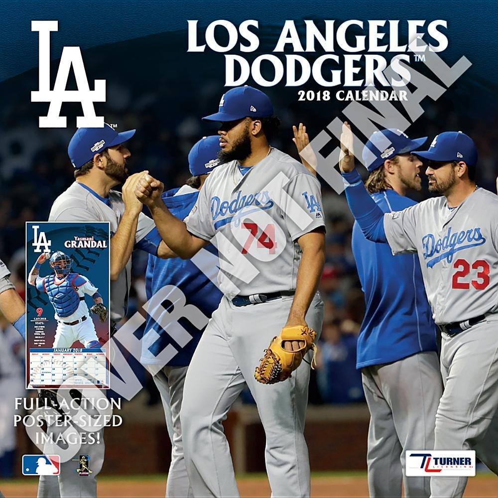 Los Angeles Dodgers 2019 Calendar Inc Lang Companies