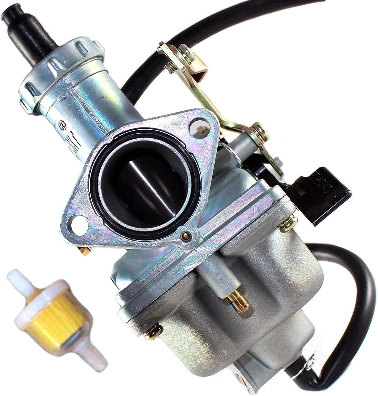 GLENPARTS Carburetor for Honda CM200T CM 200 Twinstar 200 1980 1981 1982 XL200R 1983-1984 XL 200